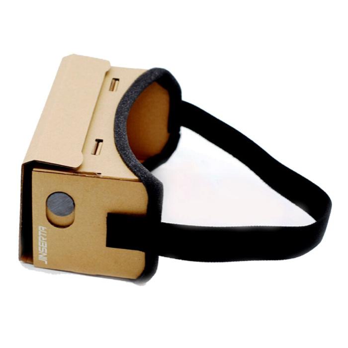 Lunettes 3D de boîte de réalité virtuelle en carton VR pour smartphones