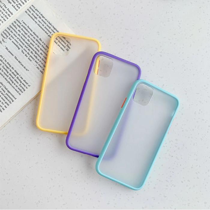 Stuff Certified® iPhone 6S Bumper Hoesje Case Cover Silicone TPU Anti-Shock Groen