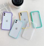 Stuff Certified® iPhone 8 Plus Bumper Hoesje Case Cover Silicone TPU Anti-Shock Groen