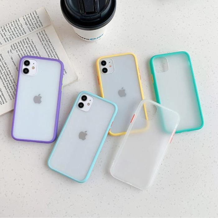 Stuff Certified® Coque Bumper iPhone 7 Plus Silicone TPU Anti-Shock Green