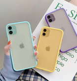 Stuff Certified® iPhone X Bumper Hoesje Case Cover Silicone TPU Anti-Shock  Groen