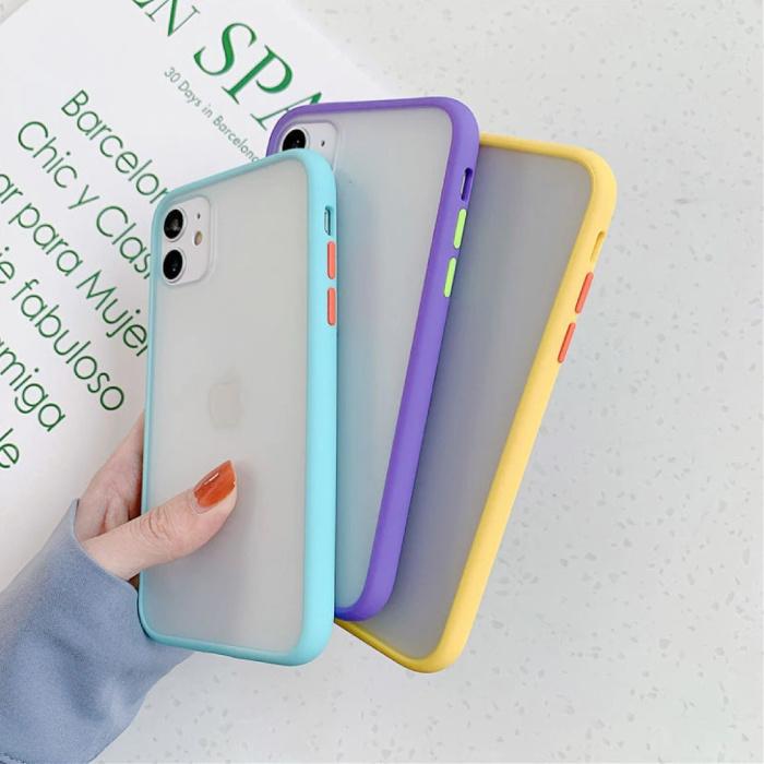 Custodia protettiva per iPhone 11 Custodia protettiva in silicone TPU antiurto verde