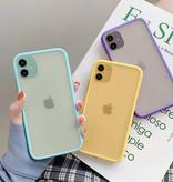Stuff Certified® Coque iPhone XS Bumper Housse Silicone TPU Anti-Shock Jaune