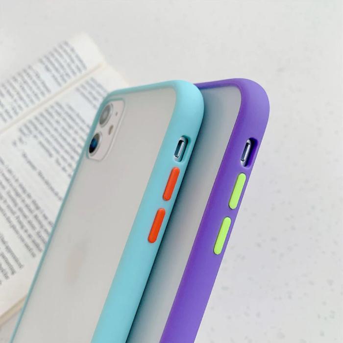 Stuff Certified® Coque Bumper iPhone 8 Plus Silicone TPU Anti-Shock Jaune