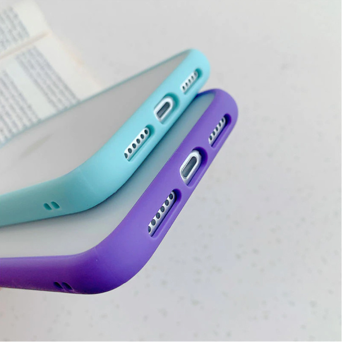 Stuff Certified® Coque Bumper iPhone 6S Plus Silicone TPU Anti-Shock Violet