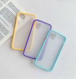 Stuff Certified® Coque Bumper iPhone XS Max Housse Silicone TPU Anti-Shock Violet