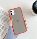 Stuff Certified® Coque Bumper iPhone 6S Silicone TPU Anti-Shock Rouge