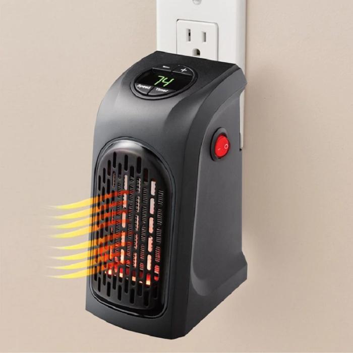 Electric Heater Radiator Heating Plug Wall Heater Portable