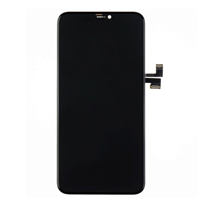 iPhone 11 Pro Max Bildschirm (Touchscreen + OLED + Teile) AAA + Qualität - Schwarz