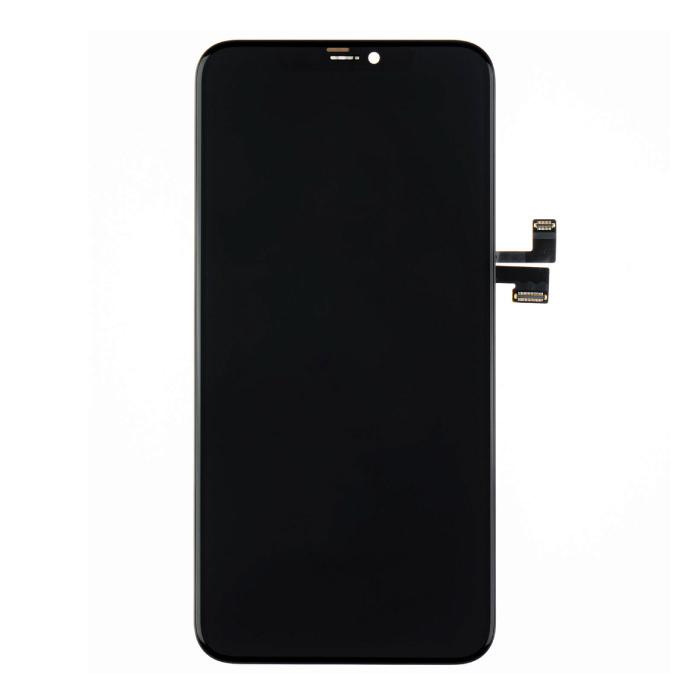 iPhone 11 Pro Max Scherm (Touchscreen + OLED + Onderdelen) AAA+ Kwaliteit - Zwart