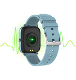 COLMI P8 Smartwatch Smartband Smartphone Fitness Sport Activity Tracker Watch OLED iOS iPhone Android Silicone Strap Blue