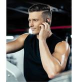 Dacom  Athelete Draadloze Oortjes met Oorhaak Sport - Touch Control -  TWS Bluetooth 5.0 Wireless Buds Earphones Earbuds Oortelefoon Zwart