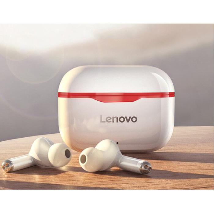 Écouteurs sans fil LP1 - Écouteurs True Touch Control TWS Écouteurs à pods sans fil Bluetooth 5.0 Rouge