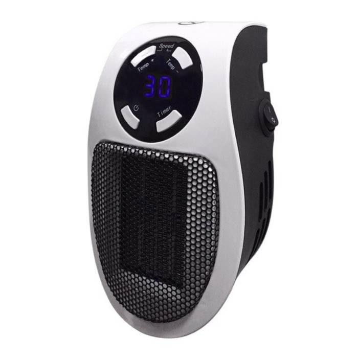 Electric Heater with Remote Control Radiator Heater Heating Plug Wall Heater Portable