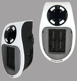 Cikuso Chauffage électrique avec télécommande radiateur radiateur prise de chauffage chauffage mural portable