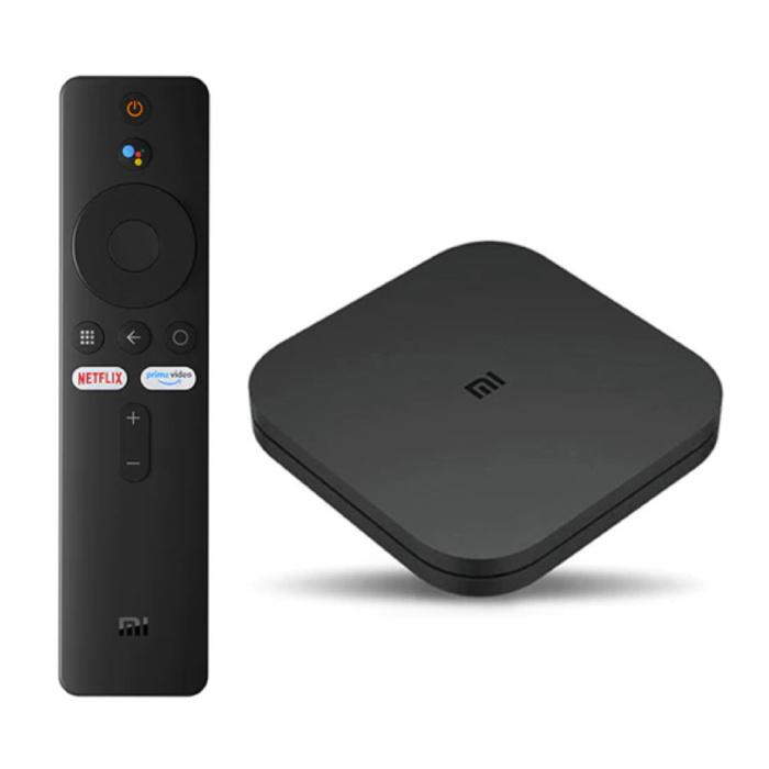 Lecteur multimédia Mi TV Box S avec Chromecast / Assistant Google Android Kodi Netflix - 2 Go de RAM - 8 Go de stockage