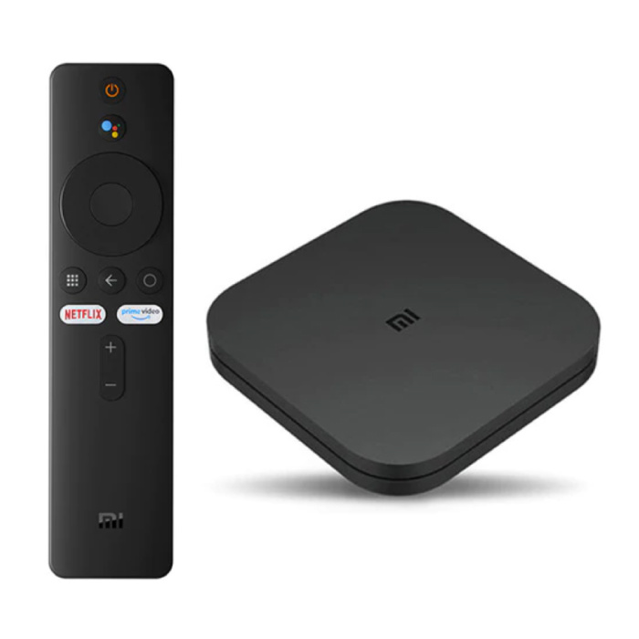 Mi TV Box S Mediaspeler met Chromecast / Google Assistant Android Kodi Netflix - 2GB RAM - 8GB Opslagruimte