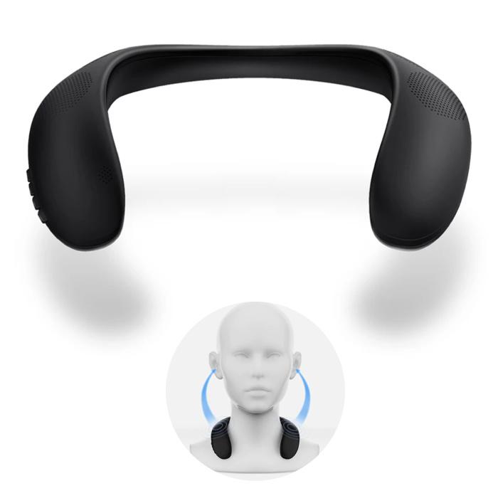 Tour de cou de haut-parleur sans fil HS - Boîtier de haut-parleur sans fil Bluetooth 5.0 Soundbar