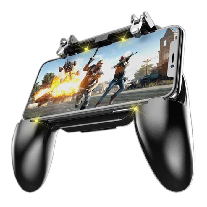 Contrôleur de jeu de téléphone pour PUBG / Call of Duty Mobile - Clé et poignée de déclenchement pour smartphone - Manette de jeu Joystick