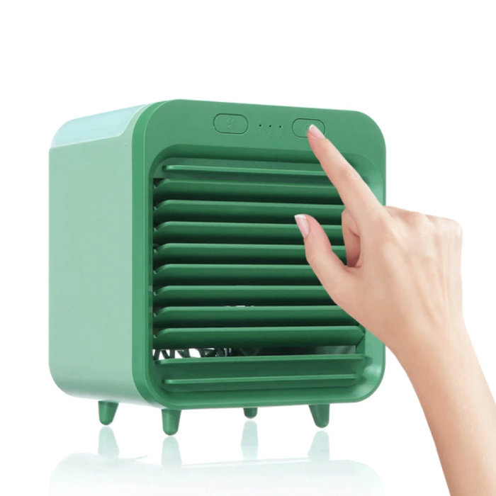 Portable Air Conditioner - Water Cooling - Mini Fan / Air Cooler Green