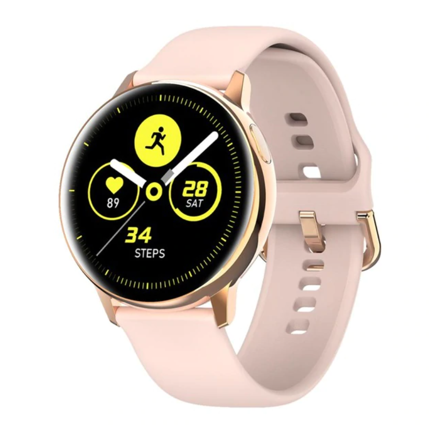 Sport Smartwatch Smartband Smartphone Fitness Tracker Montre iOS / Android Rose