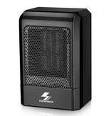 Shenhua Elektrische Kachel Radiator Heater Verwarming Stekker Wandverwarming Draagbaar Zwart