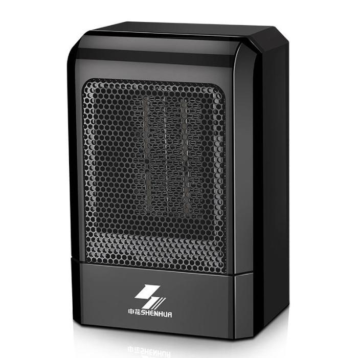 Electric Heater Radiator Heater Heating Plug Wall Heater Portable Black