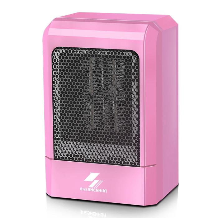 Electric Heater Radiator Heater Heating Plug Wall Heater Portable Pink