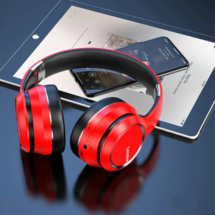 HD200 Wireless Headphones for Playstation 4 and 5 / Xbox / PC Bluetooth Wireless Headphones 3D Stereo Gaming Red