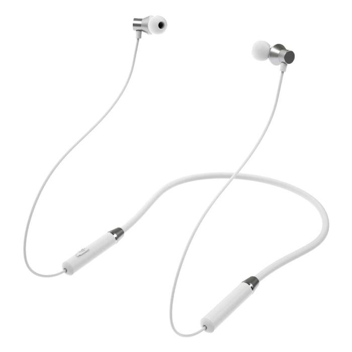 Écouteurs sans fil HE05 - Écouteurs TWS à contrôle tactile intelligent Bluetooth 5.0 Pods sans fil blanc