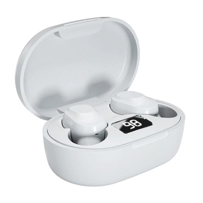 XT91 Wireless-Kopfhörer - True Touch Control TWS-Ohrhörer Bluetooth 5.0 Wireless Buds-Kopfhörer Kopfhörer Weiß