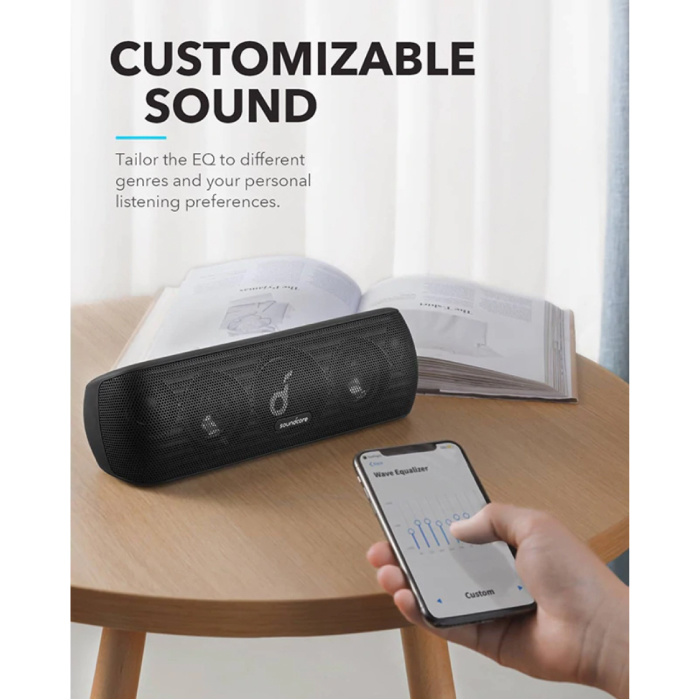 ANKER SoundCore Motion Soundbar - Draadloze Luidspreker Wireless Bluetooth 5.0 Speaker Box Zwart