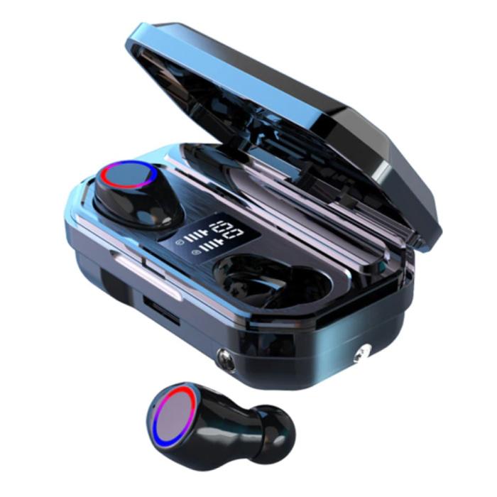 Écouteurs sans fil TWS - 2200mAh Powerbank Smart Touch Control Bluetooth 5.0 Écouteurs intra-auriculaires sans fil Écouteurs Écouteurs