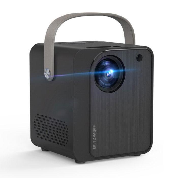 Mini-LCD-Projektor BW-VP7 mit Lautsprecher - Mini Beamer Home Media Player - 5000 Lumen