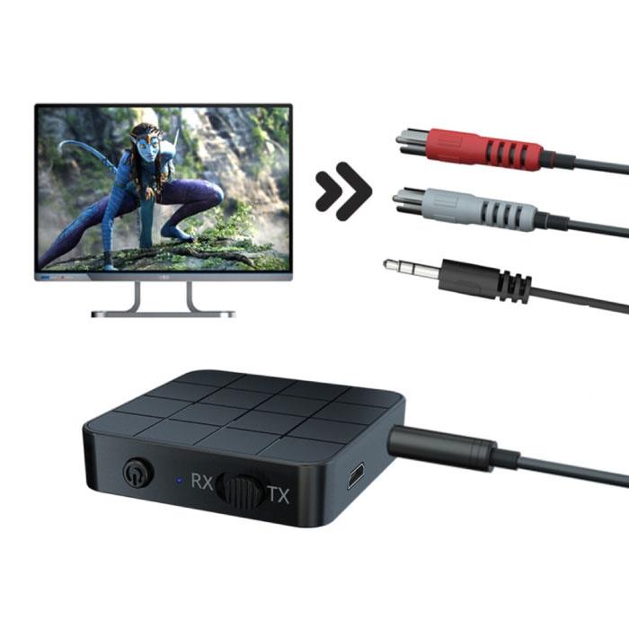 Émetteur / récepteur Bluetooth 5.0 Jack 3,5 mm - Adaptateur sans fil Streaming Audio