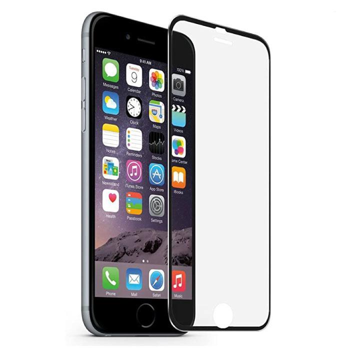 iPhone 6S Full Cover Displayschutzfolie 2.5D gehärtete Glasfolie gehärtete Glasgläser