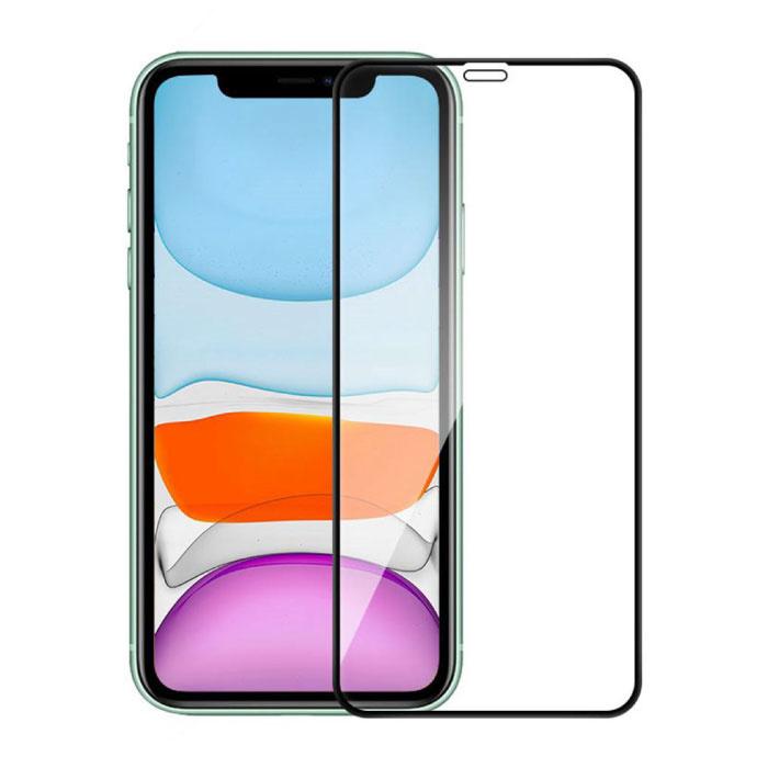 iPhone 12 Full Cover Displayschutzfolie 2.5D gehärtete Glasfolie gehärtete Glasgläser