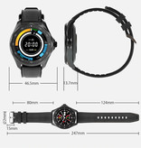 Blitzwolf BW-HL3 Smartwatch Smartband Smartphone Fitness Sport Activity Tracker Horloge IPS iOS Android iPhone Samsung Huawei Blauw