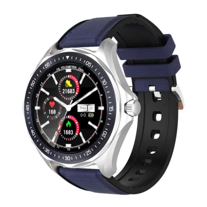 BW-HL3 Smartwatch Smartband Smartfon Fitness Sport Activity Tracker Zegarek IPS iOS Android iPhone Samsung Huawei Niebieski