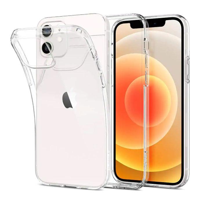 iPhone 12 Mini Transparent Clear Case Cover Silicone TPU Case