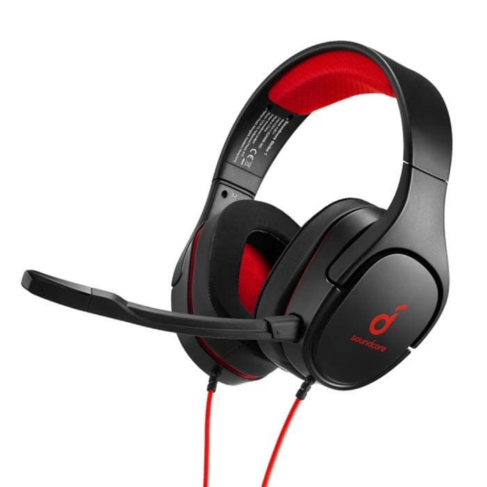 Soundcore Strike 1 Gaming Headset - Für PS4 / XBOX / PC - 7.1 Surround Sound Kopfhörer Kopfhörer