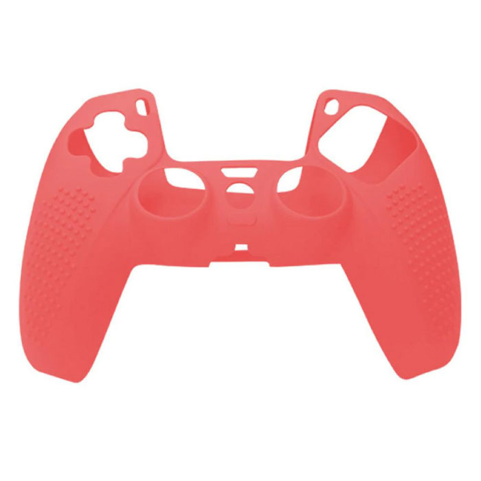 Antislip Hoes / Skin voor PlayStation 5 Controller - Grip Cover PS5 - Rood