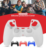 Stuff Certified® Antislip Hoes / Skin voor PlayStation 5 Controller - Grip Cover PS5 - Blauw