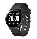 Lige 2020 Fashion Sports Smartwatch Fitness Sport Activity Tracker Smartphone Horloge iOS Android - Zwart