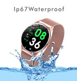 Lige 2020 Fashion Sports Smartwatch Fitness Sport Activity Tracker Smartphone Horloge iOS Android - Zilver