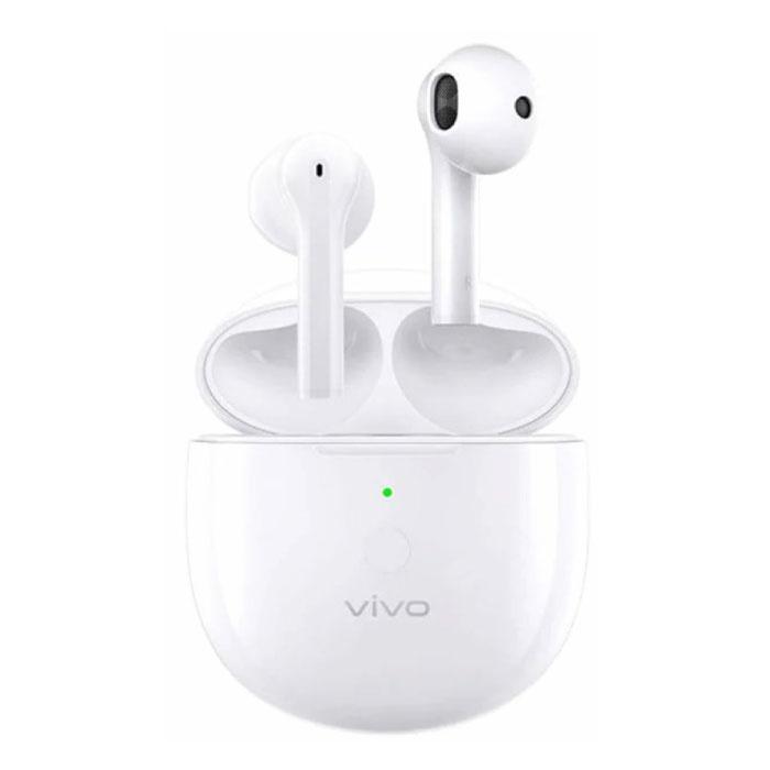 Neo Draadloze Oortjes - TWS Oordopjes Bluetooth 5.0  Wireless Ear Phones Buds Oortelefoon Wit