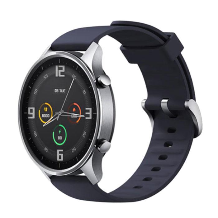Mi montre couleur sport Smartwatch Fitness Sport activité Tracker Smartphone montre iOS Android 5ATM iPhone Samsung Huawei bleu