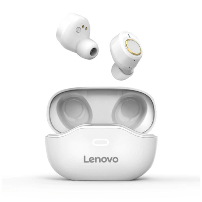 X18 Wireless Earphones - True Touch Control TWS Earbuds Bluetooth 5.0 Wireless Buds Earphones Earphones White