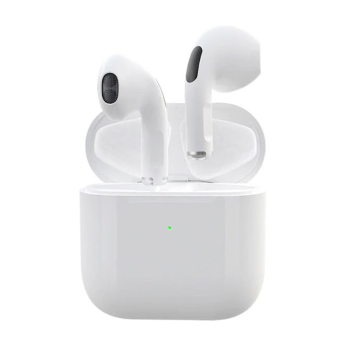 Pro 4 Wireless Earphones - True Touch Control TWS Earbuds Bluetooth 5.0 Wireless Buds Earphones Earphone White