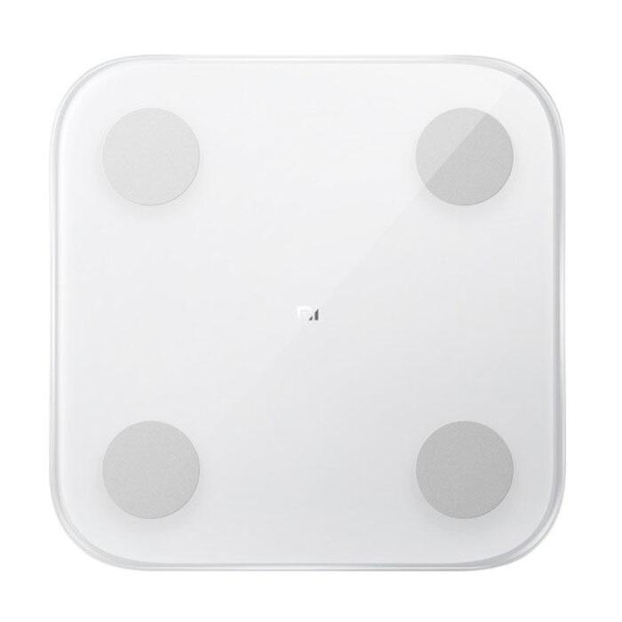 Mi Smart Scale 2 Körperzusammensetzung Persönliche Waage Digital - 150 kg / 0,1 kg - Digitalwaage Körpergewicht Körper Weiß